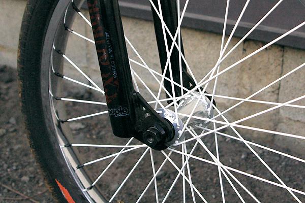 supreme front hub excalibur fork