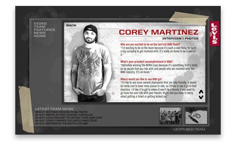 corey martinez united