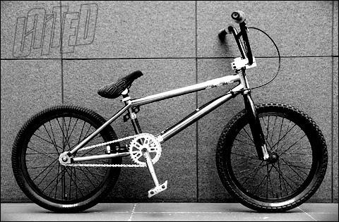 united naito bmx bike check